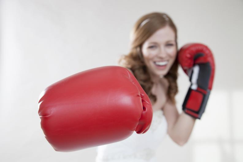 El boxeo femenino