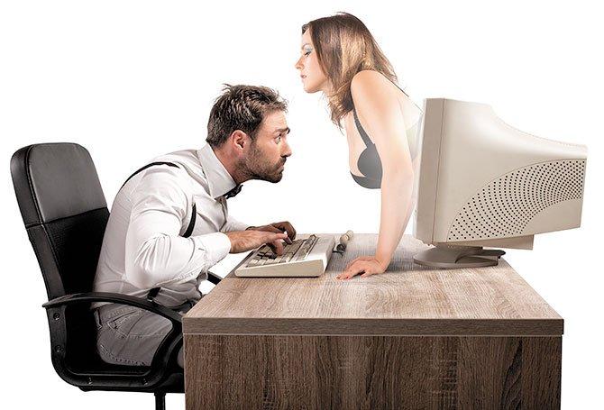 Infidelidad por Internet