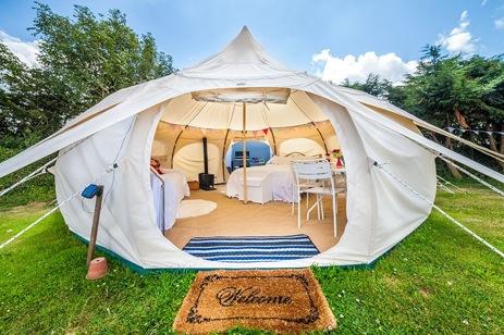 Glamping, camping con todo lujo de comodidades