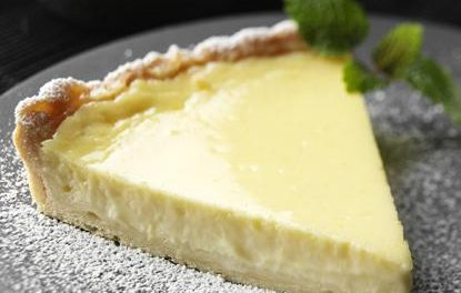 Receta de tarta de limón