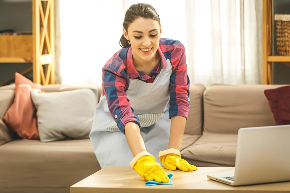 Como organizar la limpieza de tu hogar para ahorrar tiempo