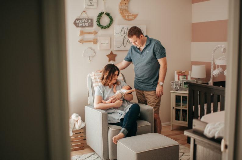 Consejos para los primeros días de tu bebé en casa